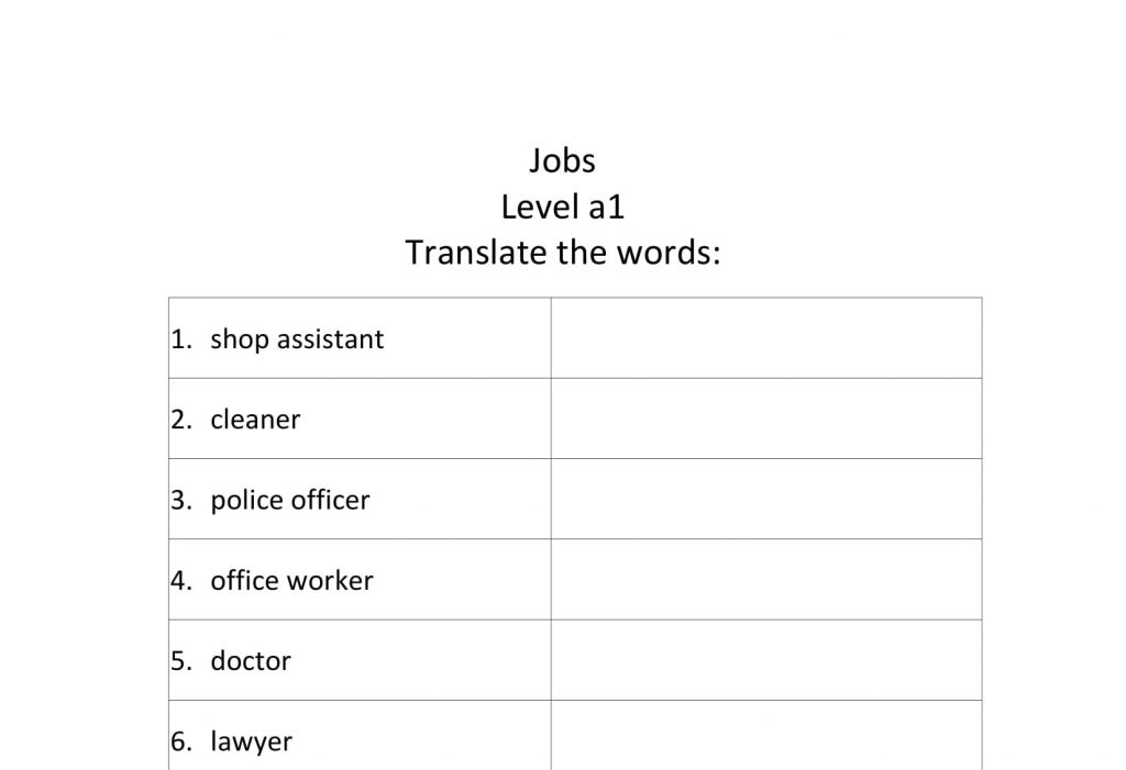 Jobs translate a1-1