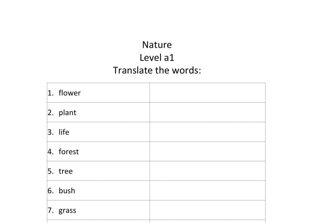 Nature translate a1-1